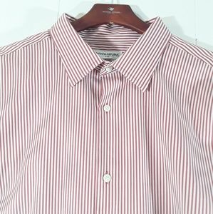 Banana Republic striped buttonup 17-17.5 shirt
